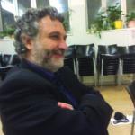 A speaker at  CCND's fringe Interfaith meeting, Vienna