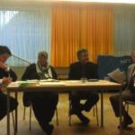 Panel at Interfaith meeting, Vienna
