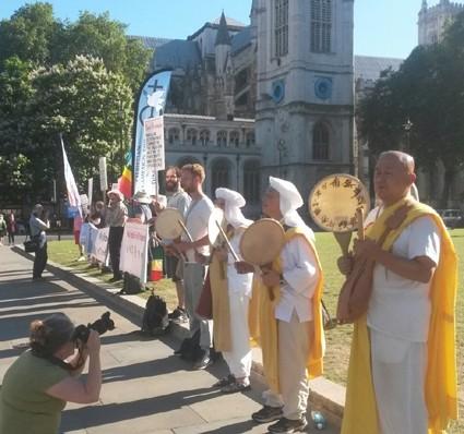 Vigil in Parliament Square