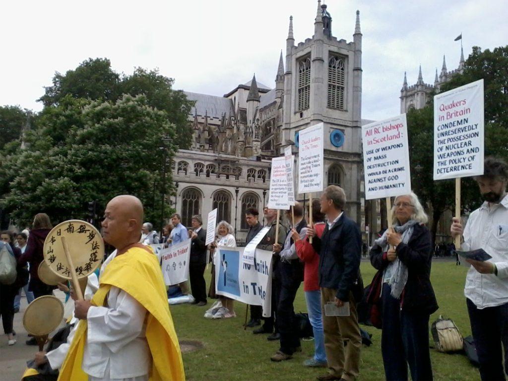 Vigil in Parliament Square July 2016